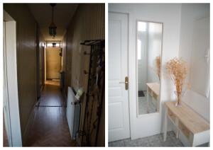 Enne ja pärast: uue kodu esik